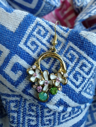 These earrings are the biggest and heaviest pieces of jewelry that I own and are as much as I can handle wearing!